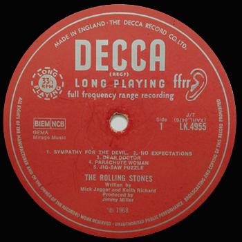 R&Bのモノラル盤 ローリング・ストーンズ