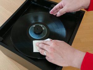 レコード洗浄