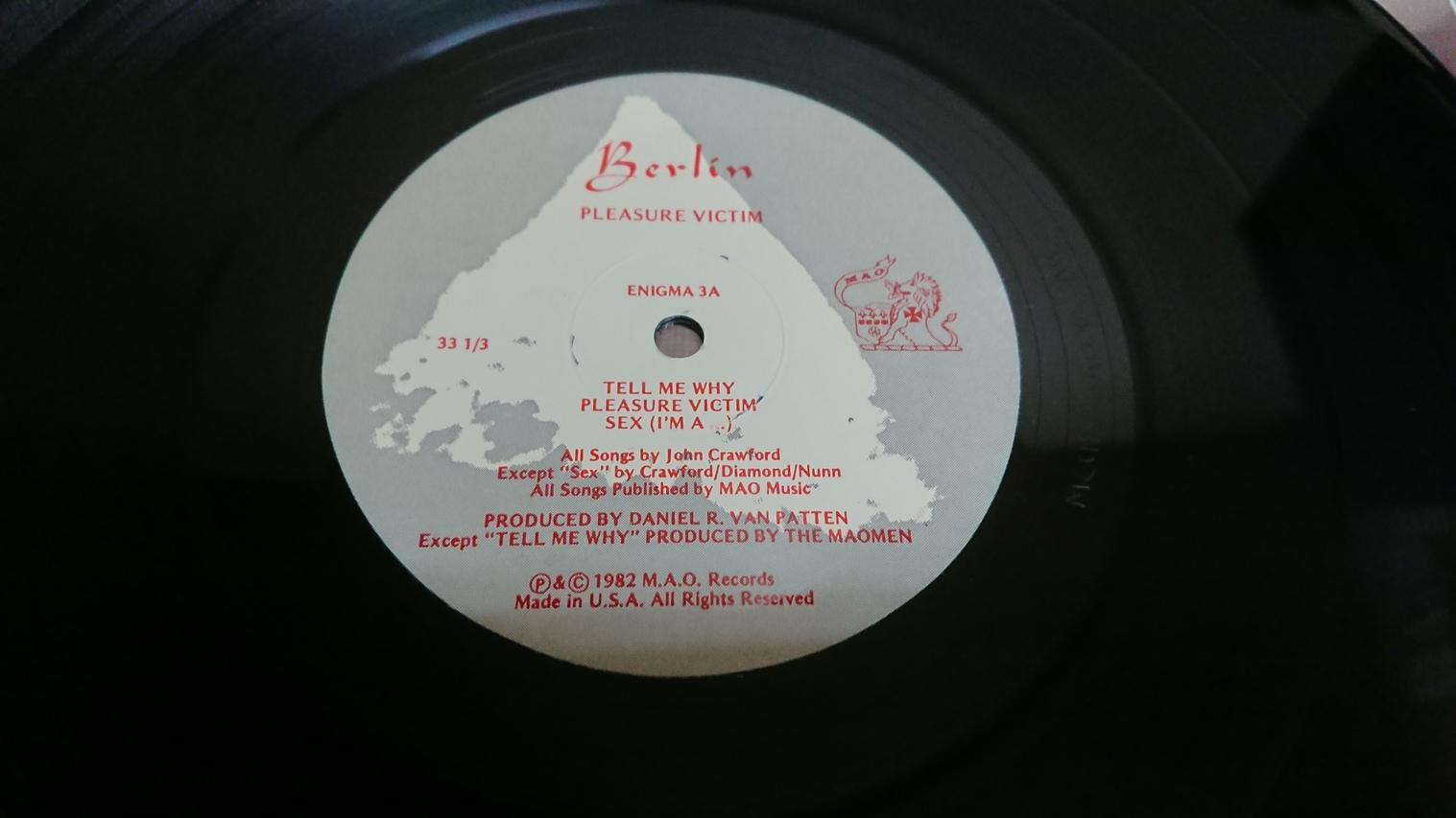 Berlin / Pleasure Victim-1982